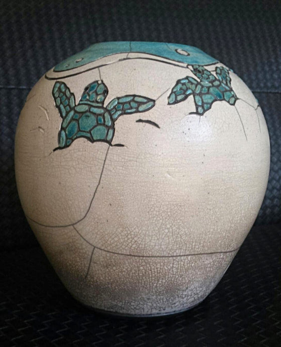 Robin Rodgers - Hatching Turtles bowl