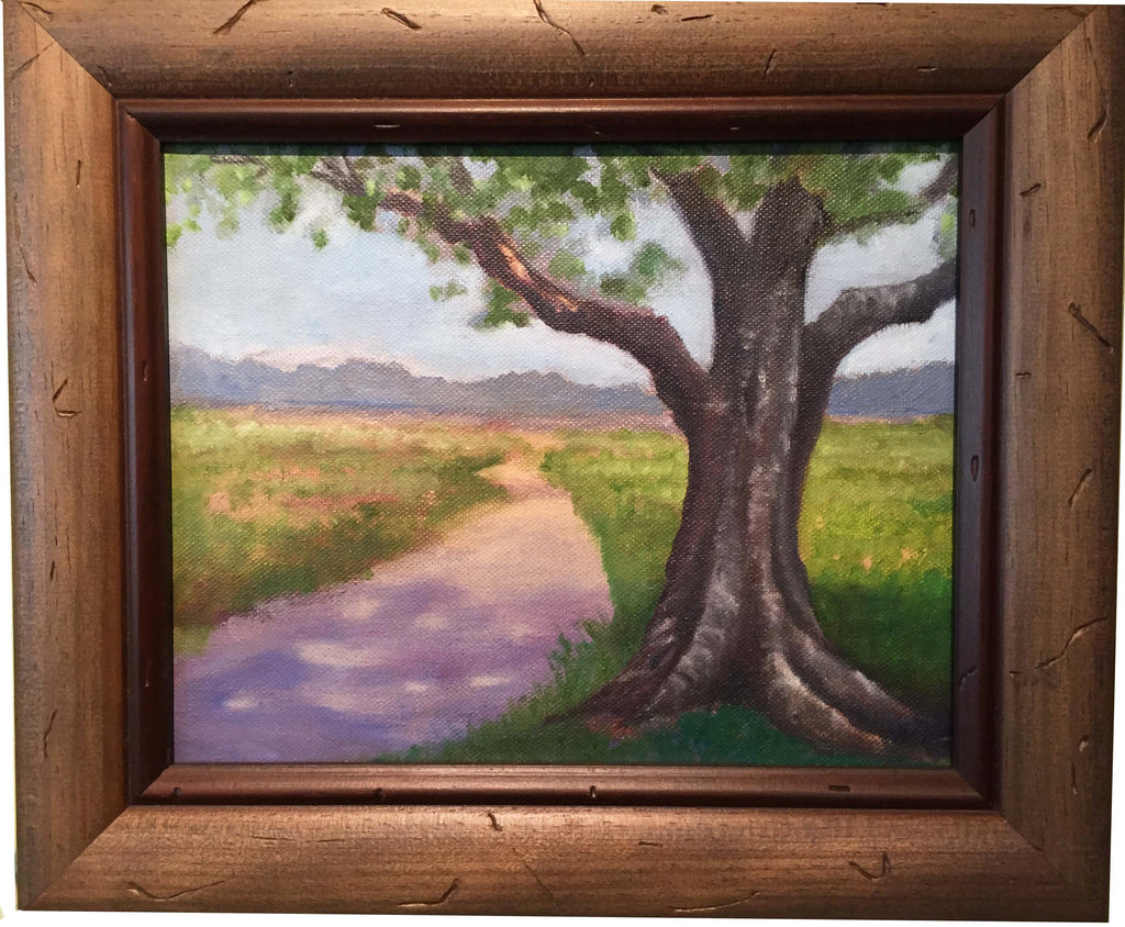 "Stephanie Clark - ""Summer Path"" Oil Painting"