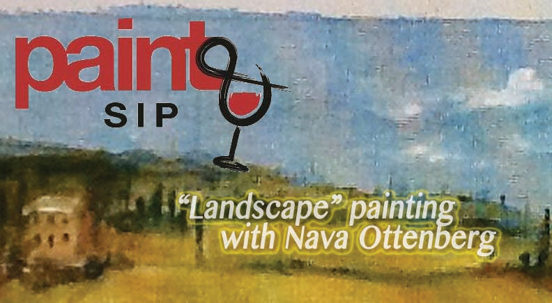 "Paint-N-Sip Tickets: ""Landscape"" Painting with Nava Ottenberg (12/16/2018)"