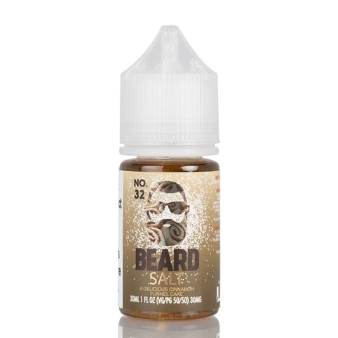 Beard Salt - A Delicious Cinnamon Funnel Cake