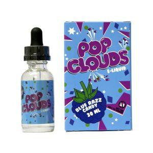 Pop Clouds - Blue Razz Candy