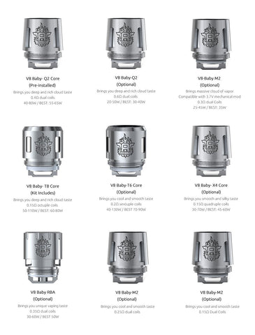 Smok - TFV8 Baby Replacement Coils