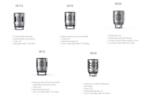 Smok - TFV8 Replacement Coils