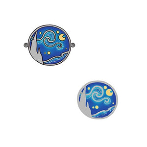 The Starry Night Rings, Earrings, Bracelet, Necklace Set - Sterling Silver - Tafani's