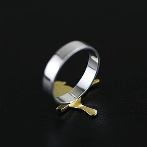 Sterling Silver Bird Ring - Handmade - Tafani's