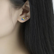 Load image into Gallery viewer, The Starry Night Stud Earrings - Sterling Silver - Tafani's
