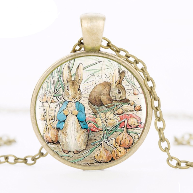 Vintage Rabbit Necklace - Tafani's