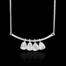 Load image into Gallery viewer, Sterling Silver Bells Necklace - Handmade - Tafani's