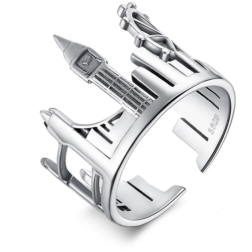 London Skyline Ring - Sterling Silver - Tafani's