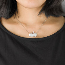 Load image into Gallery viewer, Handmade Hippie Van Pendant Necklace - Sterling Silver - Tafani's