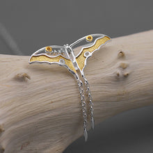 Load image into Gallery viewer, Handmade Butterfly Pendant - Sterling Silver