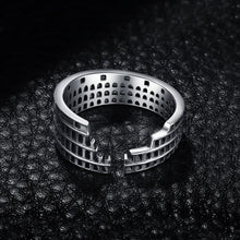 Load image into Gallery viewer, Roman Colosseum Ring - Sterling Silver - Tafani's