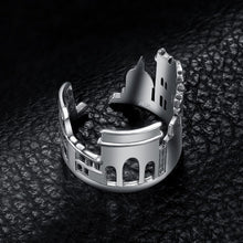 Load image into Gallery viewer, Rome Skyline Ring - Sterling Silver - Tafani's