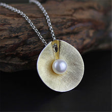 Load image into Gallery viewer, Handmade Sterling Silver Pendant Natural Pearl - Tafani's