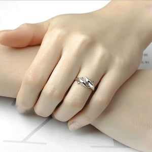 Dolphin Silver Ring - Resizable - Tafani's