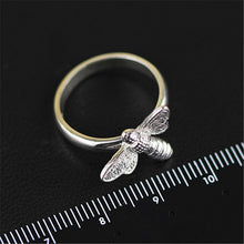 Load image into Gallery viewer, Sterling Silver Honeybee Ring - Tafani's