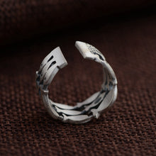 Load image into Gallery viewer, Sterling Silver Fish Ring - Resizable - Tafani's