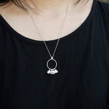 Load image into Gallery viewer, Sterling Silver Bells Pendant - Handamde - Tafani's