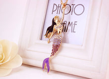 Load image into Gallery viewer, Mermaid Necklace - Tafani's