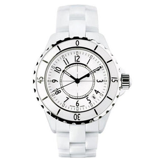White/Black Ceramic Watch