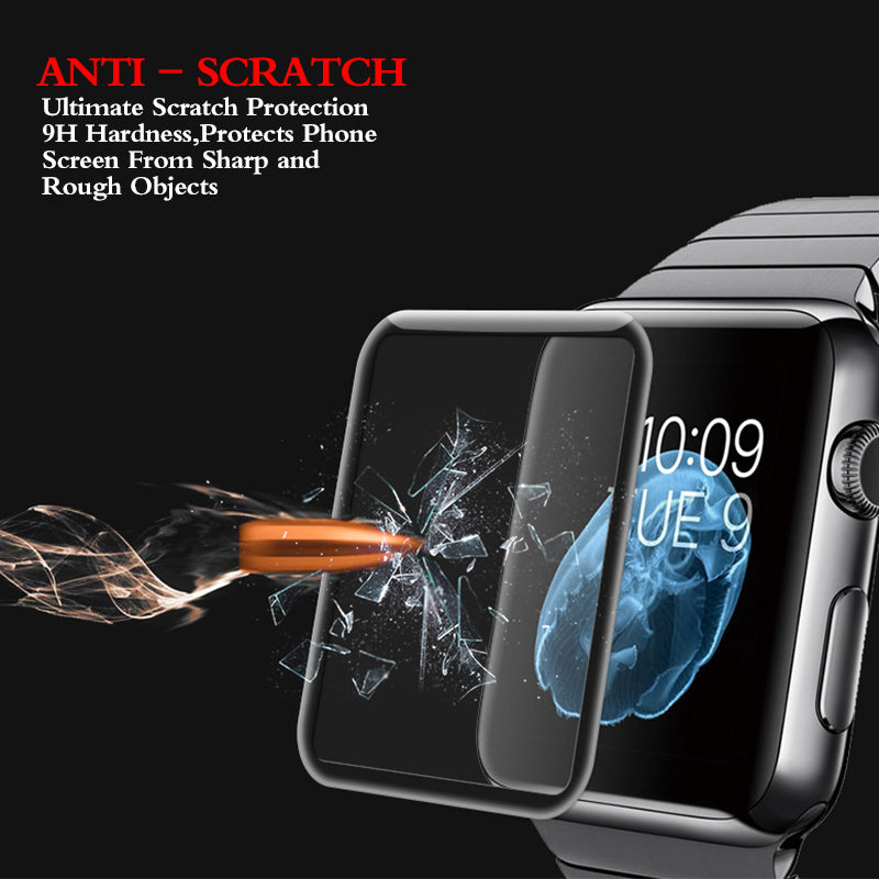 Tempered Glass For Apple Watch 38mm 42mm Series 2 1