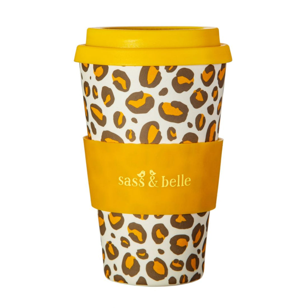Leopard Love Bamboo Coffee Mug