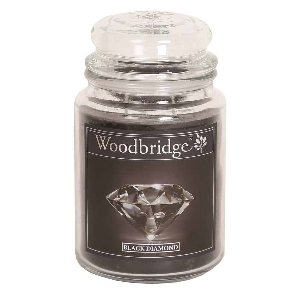 Black Diamond Large Candle