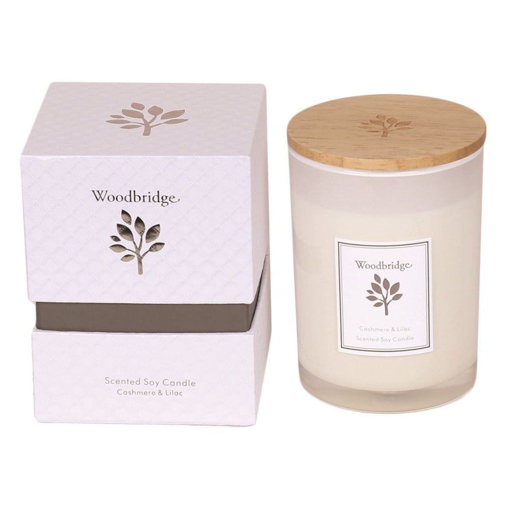 Cashmere & Lilac Soy Candle