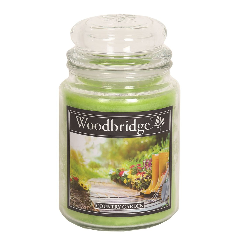 Country Garden Large Candle