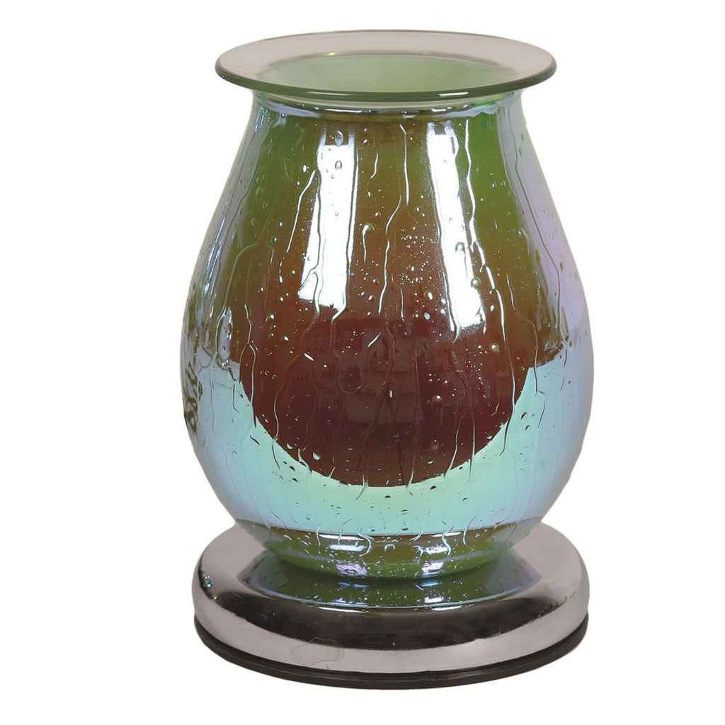 Green Waterdrop Touch Electric Wax Burner