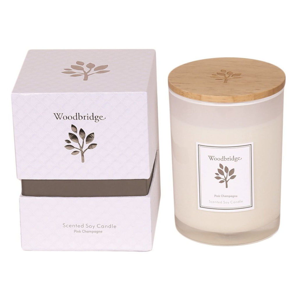 Pink Champagne Soy Candle