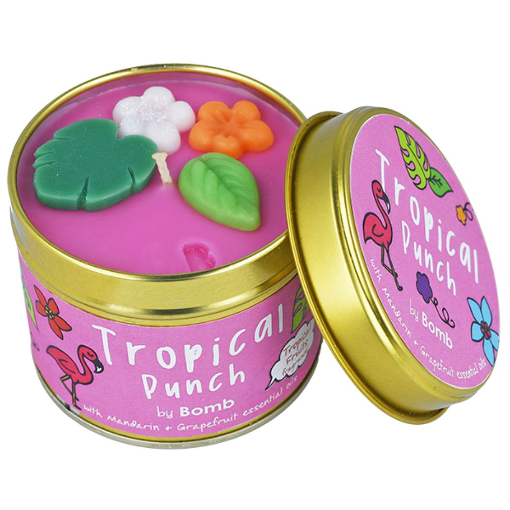 Tropical Punch Tinned Candle