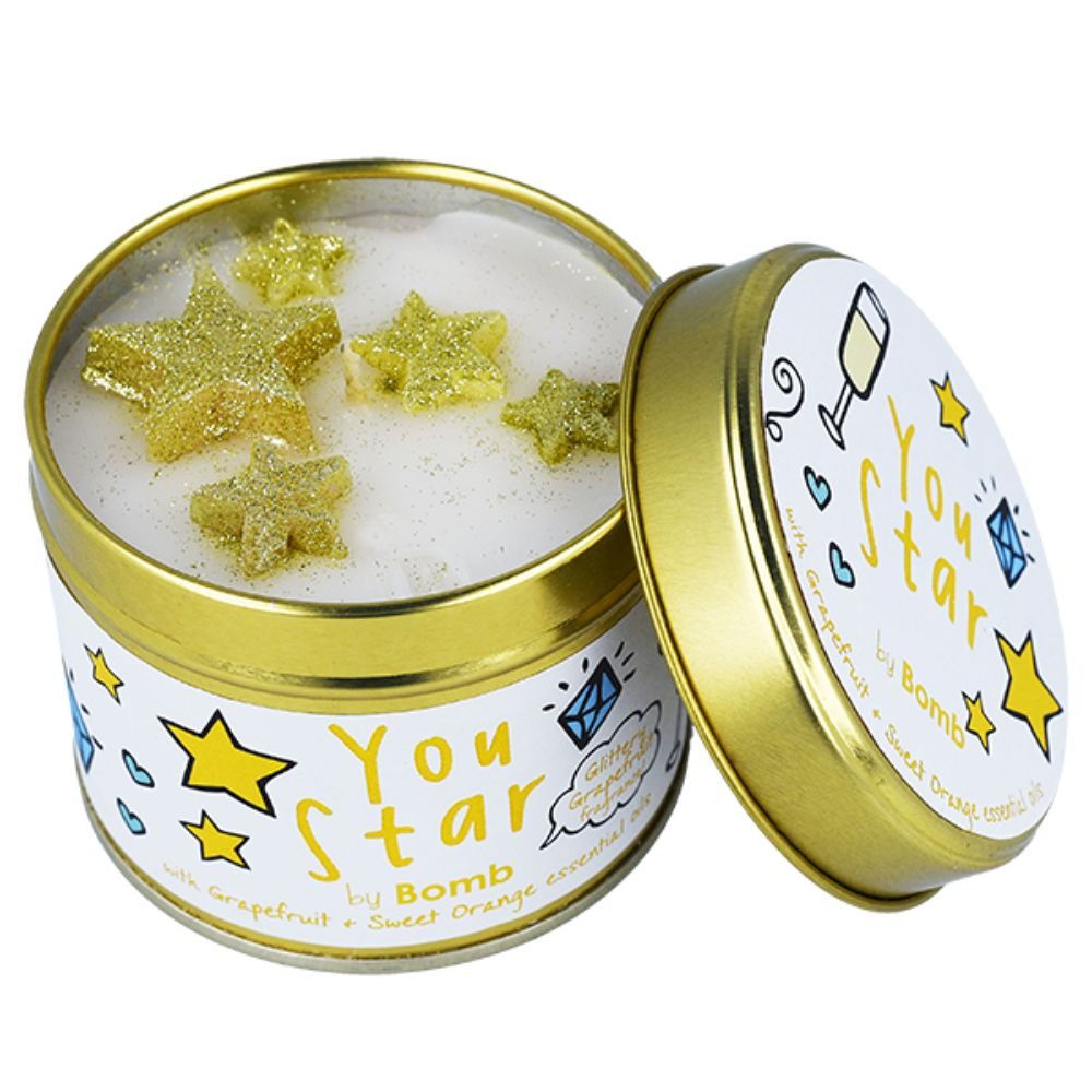Your Star Tin Candle