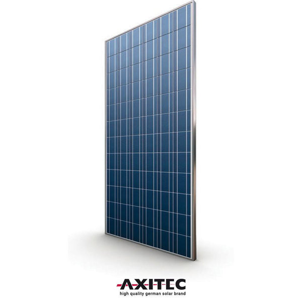 Axitec 320w Poly 72 Cell Solar Panel Silver Frame