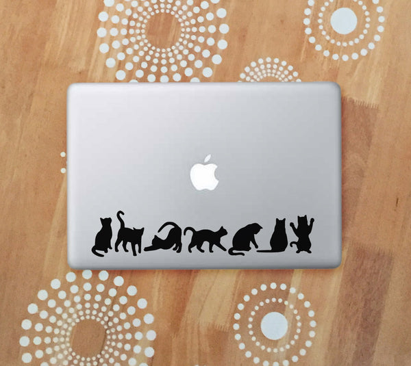 vinyl black cat decals