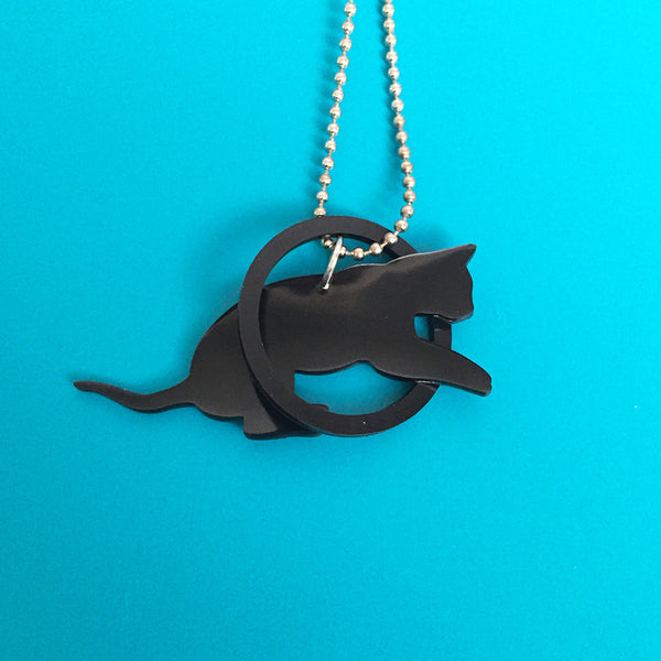 Romeo Collection Cat Necklace