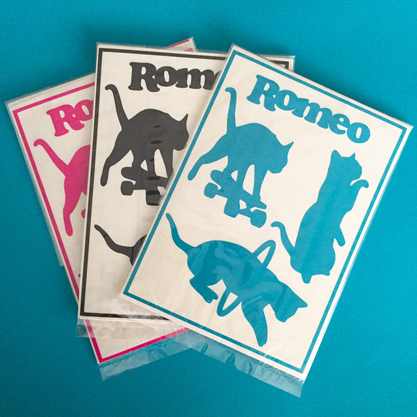 Romeo Collection Cat Stickers