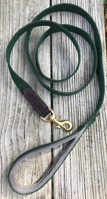 Webbed Cotton Leash