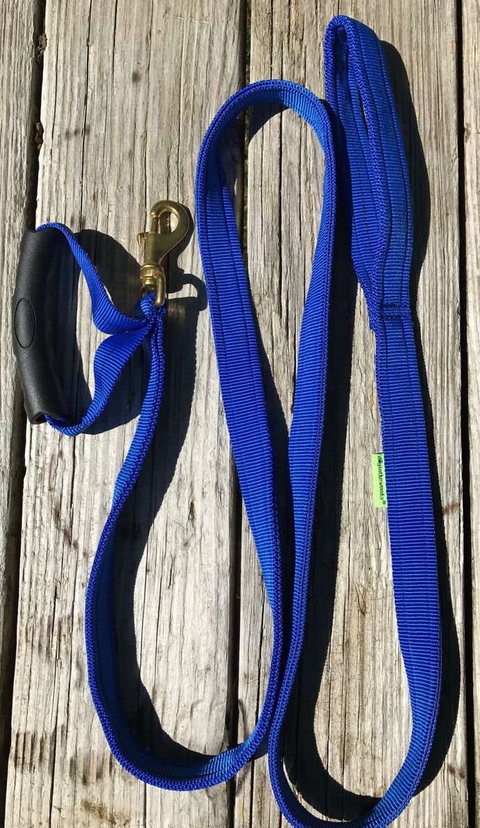 6' Nylon Leash with Traffic Lead