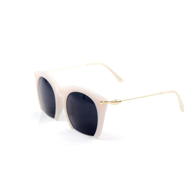 Lela the Blunt Edge Cat Eye Sunglasses
