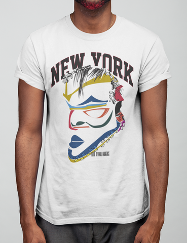 Yanto New York Abstract Mask Tee