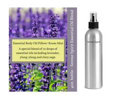 Essential Oil Room/Linen/Body Sprays