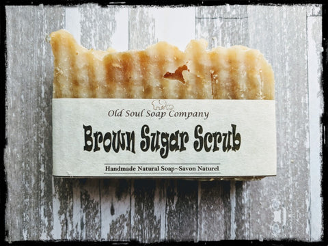Natural Soap Bar - Brown Sugar Scrub