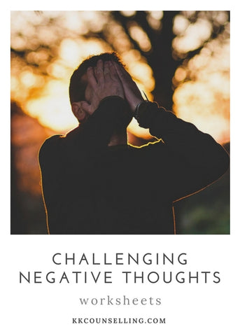 Challenging Negative Thoughts Worksheets