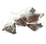 Caramel Tea - Pyramid bags of Loose Leaf Tea - Rooibos - 10 Bag Sampler with Tin