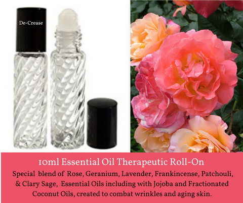 De-Crease - Roll On Therapeutic Aromatherapy - Wholesale