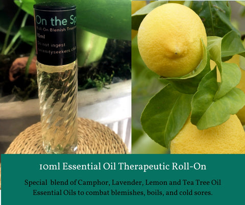 On the Spot - Roll On Therapeutic Aromatherapy Blend