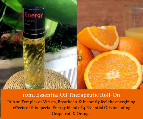 Energy - Roll On Therapeutic Aromatherapy Blend
