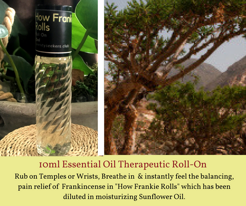 How Frankie Rolls - Roll On Therapeutic Aromatherapy Blend