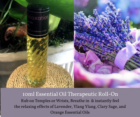 Relaxation - Roll On Therapeutic Aromatherapy Blend